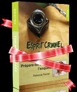 Esprit criminel livres personnalisés frissons