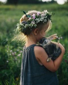 fille lapin